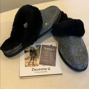 New Bearpaw Shoes   Slippers metallic silver